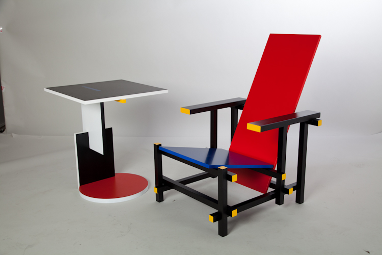 Tavolino Di Rietveld.Gerrit Rietveld