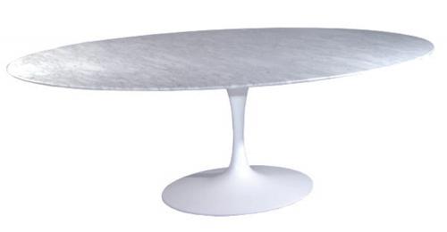 Tavolo saarinen ovale 225 - Saarinen tavolo ovale allungabile ...