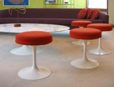 Tavolo Saarinen Ovale 245