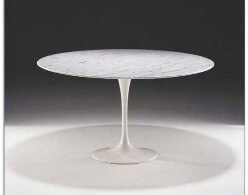 Tavolo saarinen marmo 107 for Tavolo marmo design