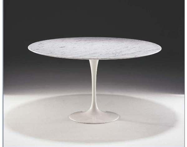 Tavolo Saarinen Misure : Tavolo saarinen marmo 107